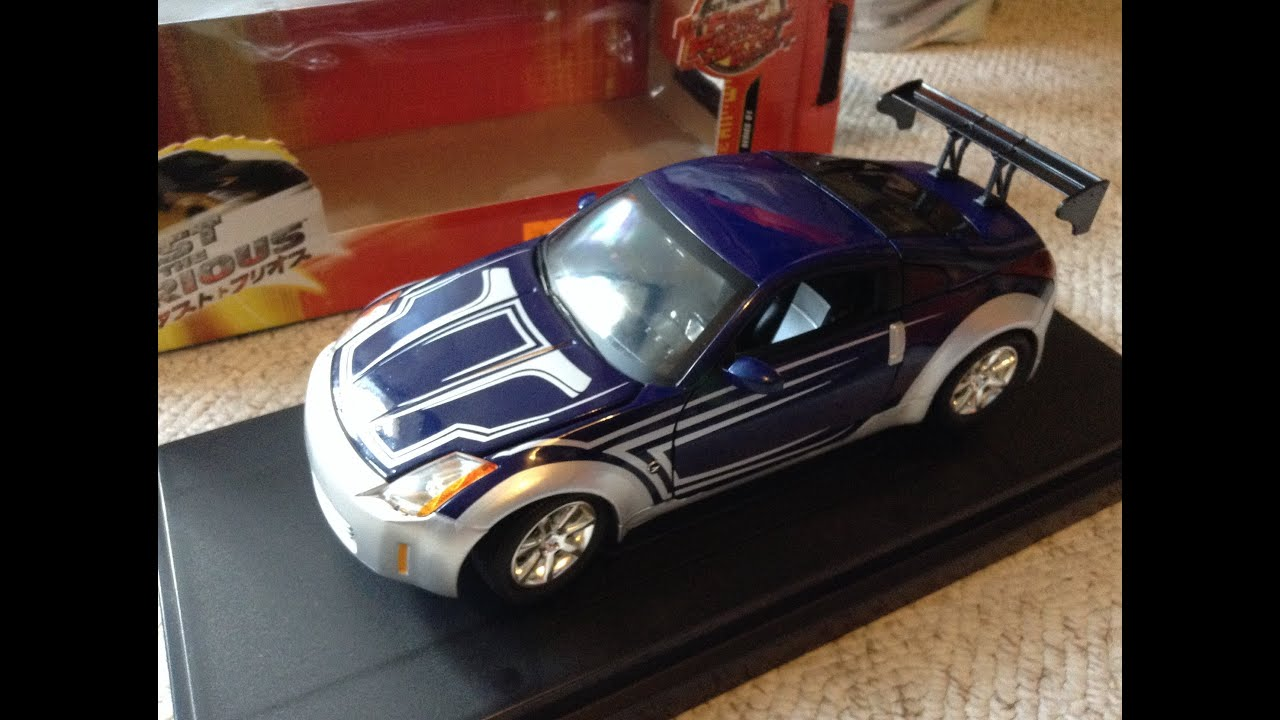 Fast And Furious Tokyo Drift Nissan Die Cast Ertl Youtube