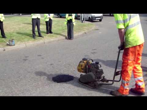 New for 2010. RonaRoad GreenPatch Pothole Repair.