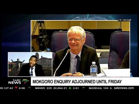 Mokgoro Enquiry adjourned  until Friday