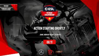 ESL Vietnam Championship - Liên Quân Mobile Day 5: HTVC IGP vs EVOS, FapTV vs SDB