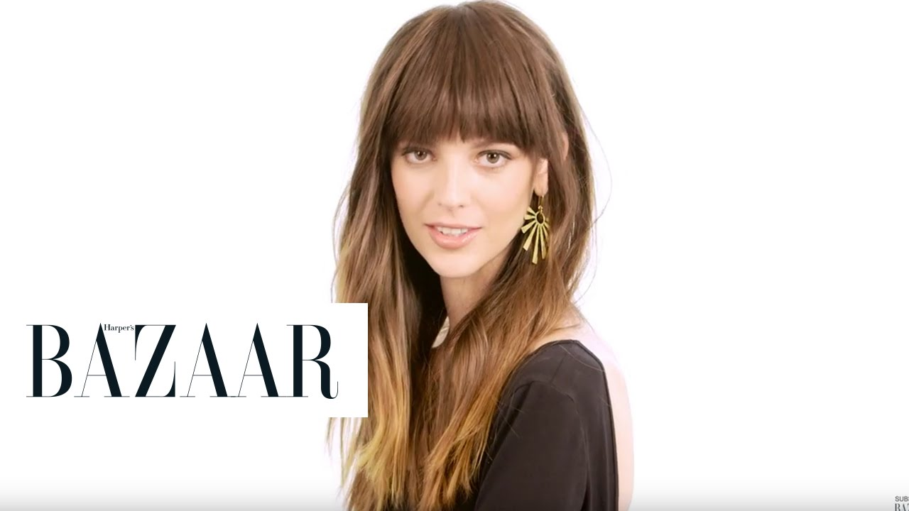 How To Cut Style Jane Birkin Bangs How To Make Clip In Bangs Look Chic