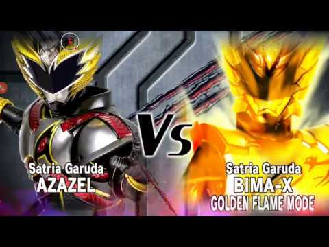 FULL! AZAZEL VS BIMA-X GOLDEN FLAME MODE, EARTH MODE & STORM MODE