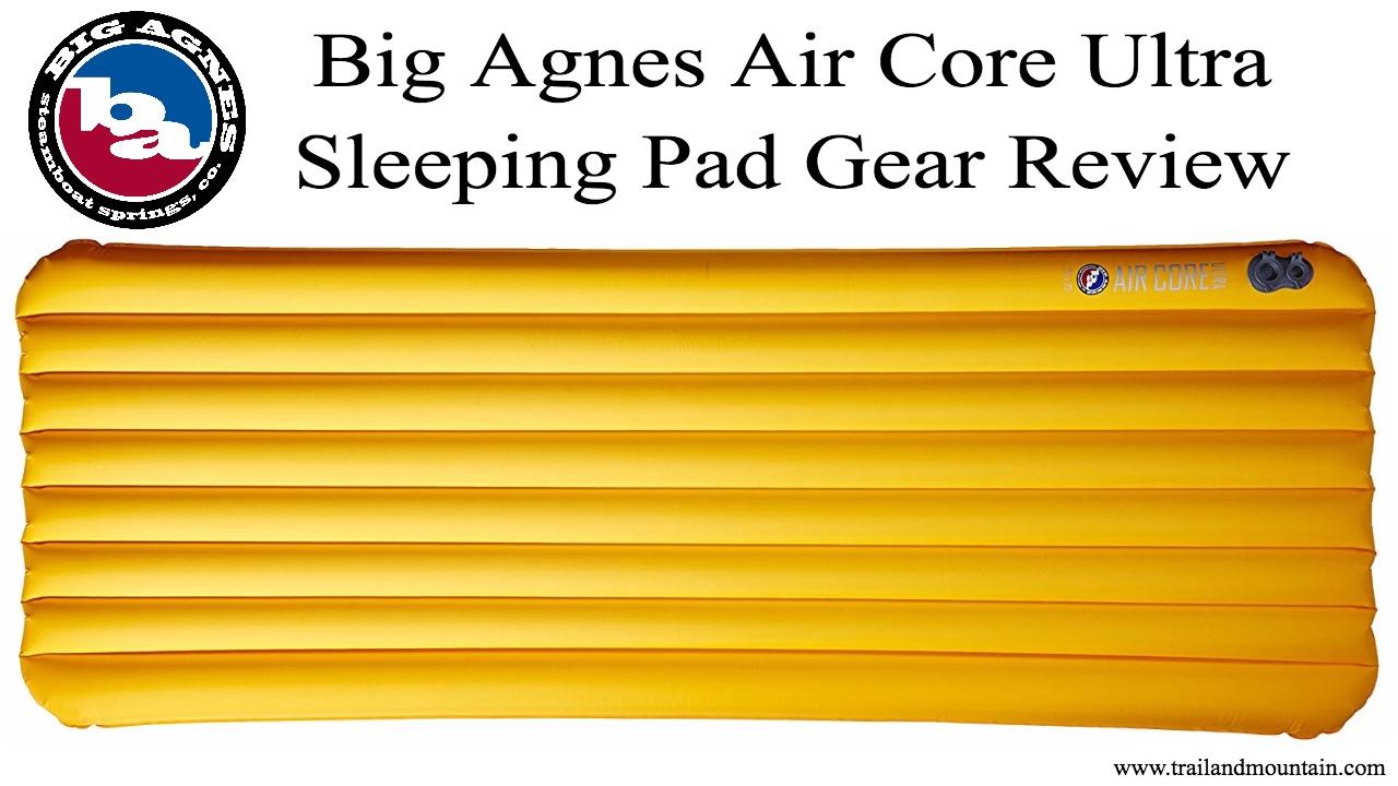 Big Agnes Air Core Ultra Sleeping Pad Review - YouTube 2b3c010065a9