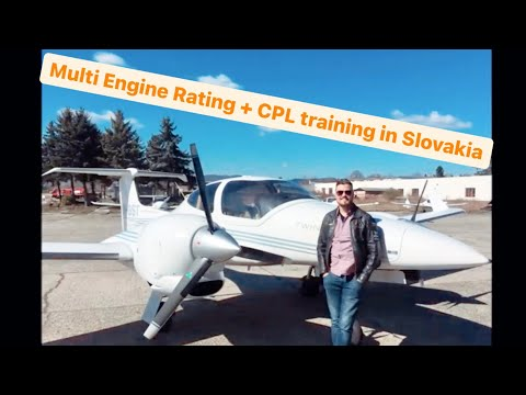 My flight training experience in Slovakia