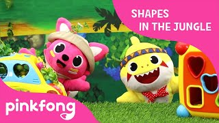 Shapes in the Jungle | Toy Show | Pinkfong Toy Review for Children