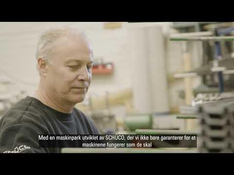 Oppnå best mulig ytelse med Schüco Fabrication