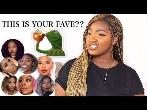MY OPINIONS ON YOUR FAVE BLACK YOUTUBERS! | THE TEA | TOP 15
