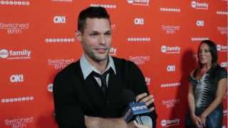 "Justin Bruening Interview - ""Switched at Birth"" Interview"