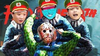 SÁT NHÂN JASON BỊ CÔNG AN SĂN LÙNG LỘT MẶT NẠ =))) Lần đầu team Đụt dũng cảm thế này !!!