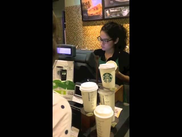 Starbucks, su proceso de venta #1