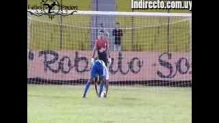 Primer Gol de Raul Leguias en Cerro Largo FC