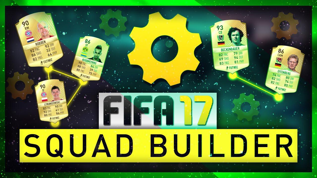 Fifa 17 Bundesliga Squad