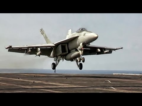 Aircraft Carrier In Action • USS John C. Stennis