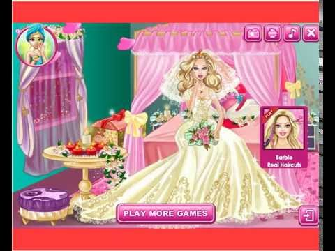 Barbie wedding room design