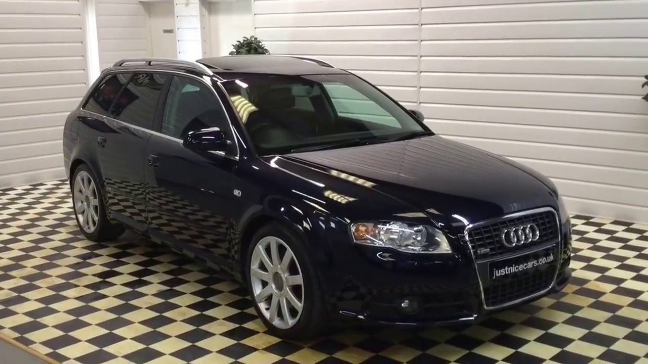 2005 54 audi a4 avant 3 0 v6 tdi s line quattro automatic sorry now sold youtube. Black Bedroom Furniture Sets. Home Design Ideas