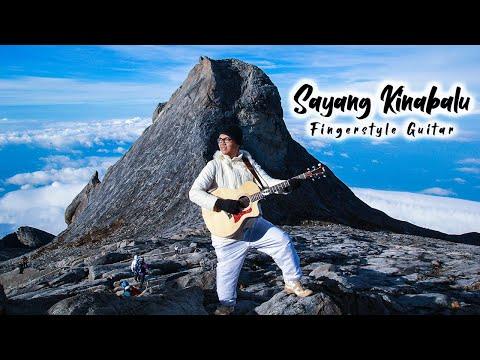 Sayang Kinabalu (Kimin Mudin) Fingerstyle Guitar HD