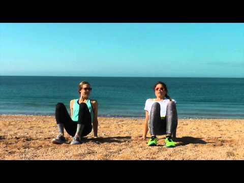 DNA Leg and Bum Beach Workout