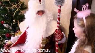 видео Вызов VIP Деда Мороза на дом