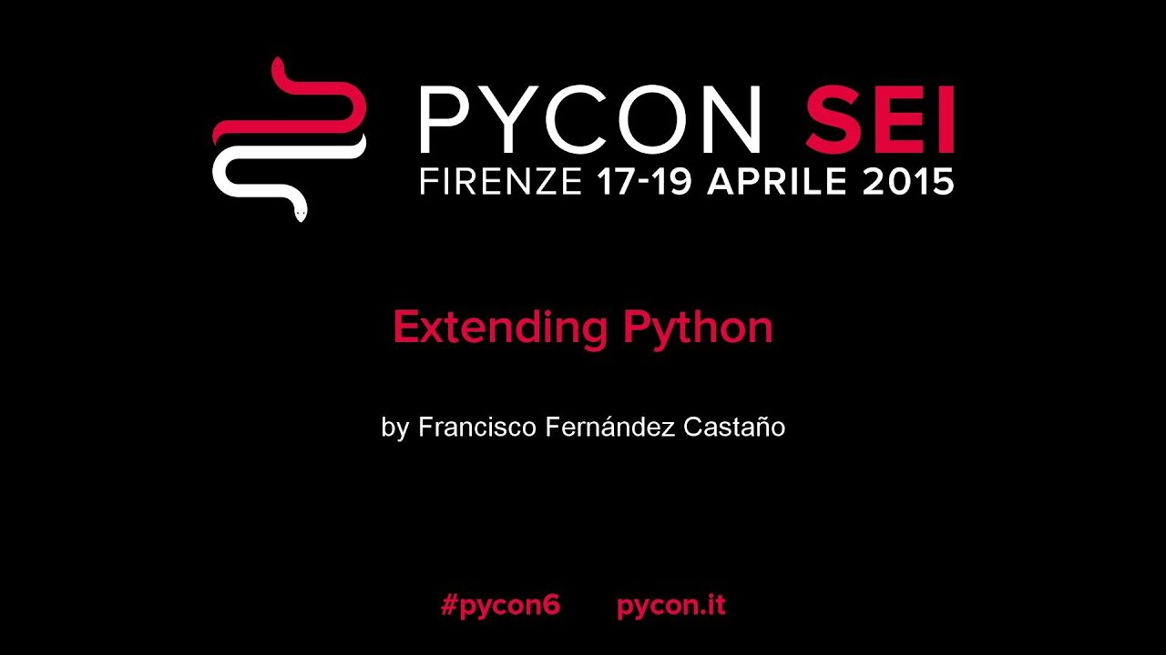 Image from Extending Python