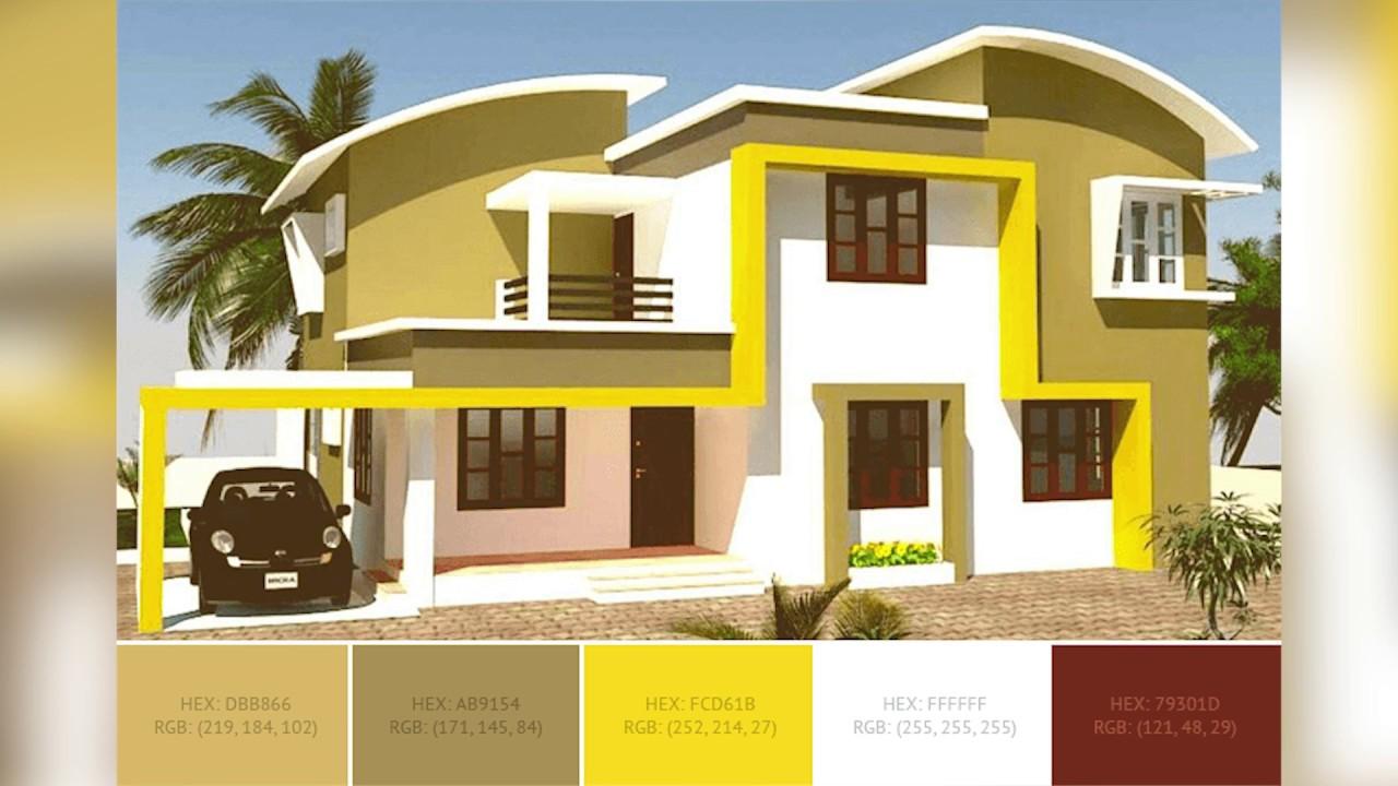 Best Home Exterior Color Combinations And Design Ideas   SchemeColor