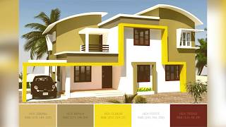 Best Home Exterior Color Combinations And Design Ideas | SchemeColor