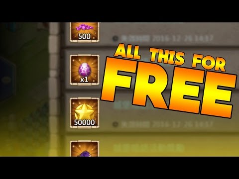 Castle Clash So Much Free Stuff!