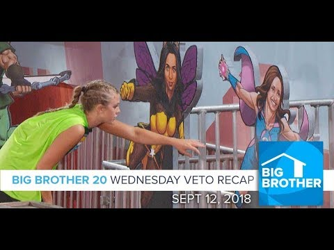 BB20 | Wednesday Veto Episode Recap - Sept 12, 2018