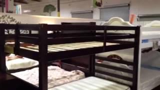Big Bear Ridge Twin Bunk Bed With Stairs  Idbk966