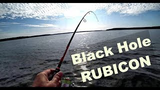 Рыбалка на новый спиннинг Black Hole Rubicon 5   25. Обзор спиннинга