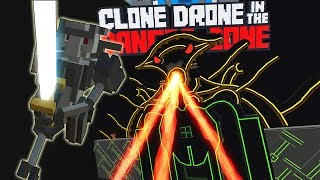 ПРОХОДИМ КОНТРУ, НОВЫЕ КАРТЫ, СЛОЖНЫЙ ЧЕЛЕНДЖ   Clone Drone in the Danger Zone