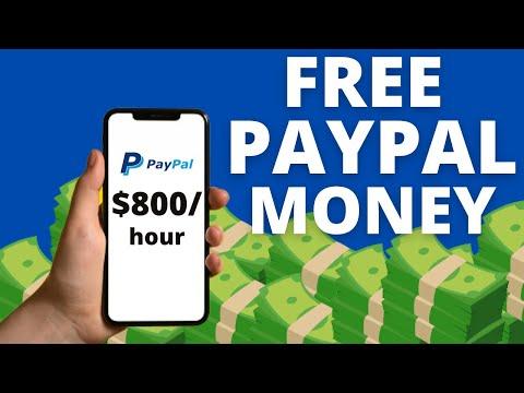 Make $800/Hour In Free PayPal Money (Make Money Online)