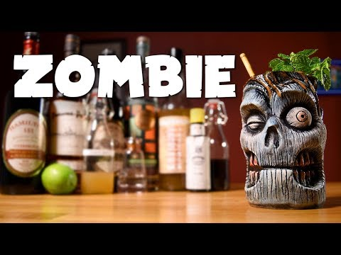 Zombie - How to Make the Classic Tiki Cocktail & the History Behind It (1934 Recipe)