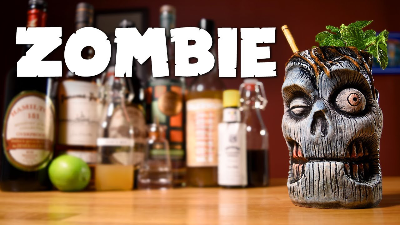 Zombie - How to Make the 1934 Don the Beachcomber Tiki ...