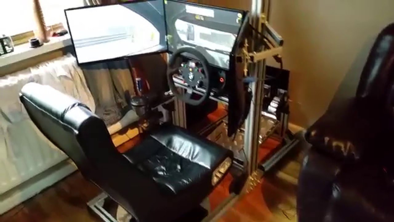 8020 Diy Sim Rig Iracing Nordschleife Youtube