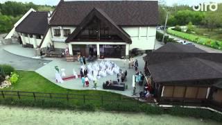 Свадьба Семёна и Валерии. Аэросъемка Челябинск