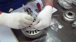 видео люстра вентилятор потолочный купить