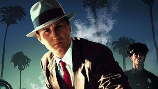 LA Noire: The VR Case Files - Oculus Rift Gameplay (1080p Virtual Reality Test)