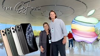 Apple iPhone 11 & iPhone 11 pro max launch event | the east family
