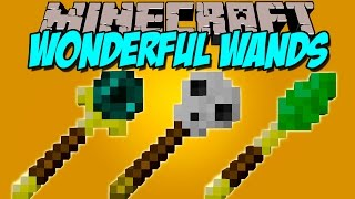 WONDERFUL WANTS MOD - Varitas magicas!! - Minecraft mod 1.7.10, 1.8 y 1.8.9 Review ESPAÑOL