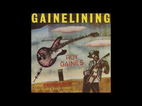 ROY GAINES Waskom, Texas, USA  Okie Dokie Stomp instr.