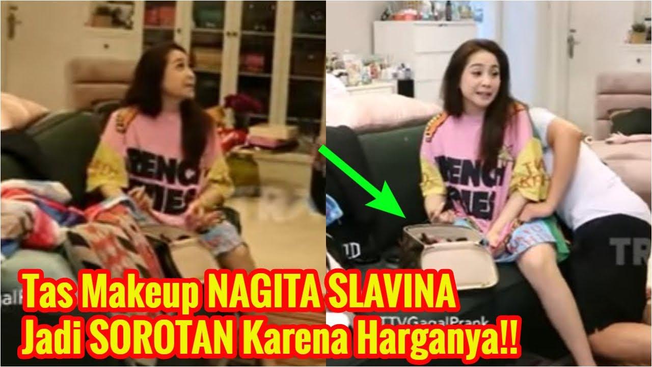 Bikin SYOK Netizen, Intip 'Tas Makeup' NAGITA SLAVINA yang Jadi SOROTAN!