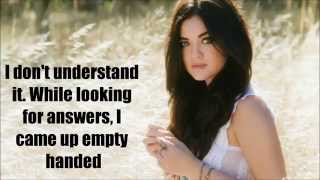 Lucy Hale - Empty Handed (Lyric Video)
