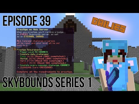 SEED HARVESTING OUR WAY TO PRESTIGE Minecraft Skybounds - Robots Island - Episode 39