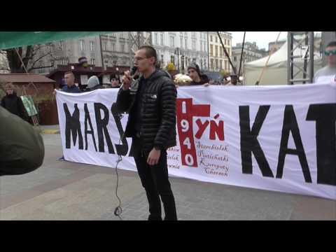 Kraków: Marsz Katyński 2017