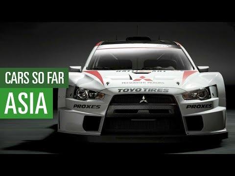 Gran Turismo Sport - Asia cars so far