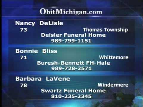 How Death Notifications Are Broadcast On  WNEM-TV