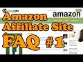 Amazon Affiliate Site FAQ 1 - Custom CSS, Twitter Feed, Fixing Problems and More