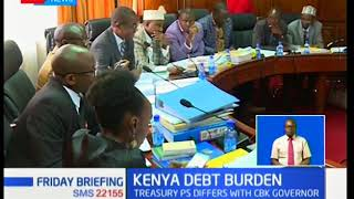 Secretary PS dismisses reports by CBK Governor that Kenya's debt ceiling is low