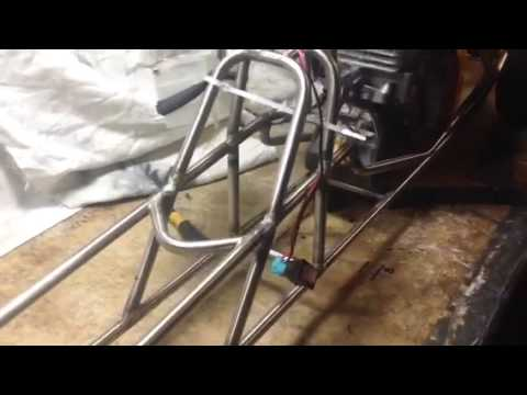 1/4 scale dragster build