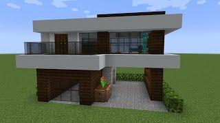 Como fazer uma Casa Moderna em 5 minutos no Minecraft